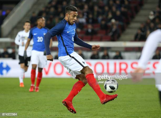 Corentin Tolisso of France during the international friendly match between Germany and France at RheinEnergieStadion on November 14 2017 in Cologne...
