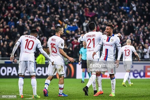 Olympique Lyonnais v As Roma - Uefa Europa League Round of 16 first leg : News Photo