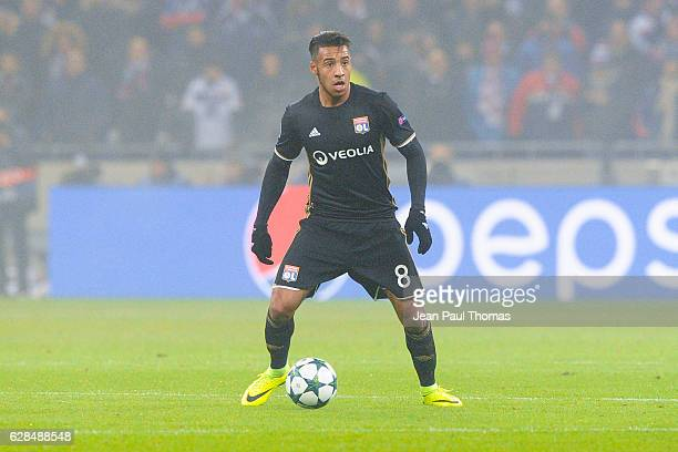 Corentin TOLISSO of Lyon during the Champions League match between Lyon and Sevilla at Stade des Lumieres on December 7 2016 in DecinesCharpieu France
