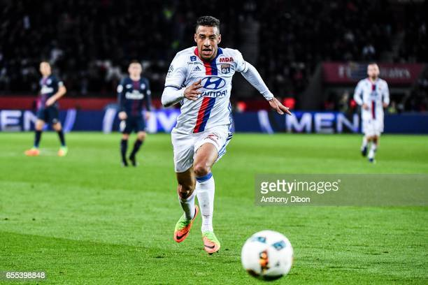 Corentin Tolisso of Lyon during the French Ligue 1 match between Paris Saint Germain and Lyon at Parc des Princes on March 19 2017 in Paris France