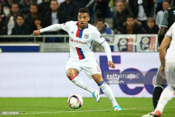 Corentin Tolisso of Lyon during the UEFA Europa League semi final second leg match between Olympique Lyonnais and Ajax Amsterdam at Parc OL on May 11...