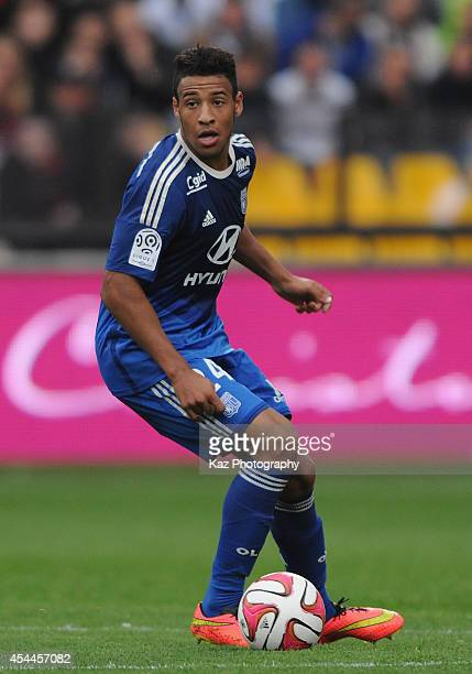 Corentin Tolisso of Lyon in action during the French Ligue 1 match between FC Metz and Olympique Lyonnais at Stade SaintSymphorien on August 31 2014...