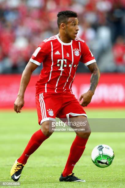 Corentin Tolisso of Muenchen runs with the ball during the International Champions Cup Shenzen 2017 match between Bayern Muenchen and AC Milan at on...