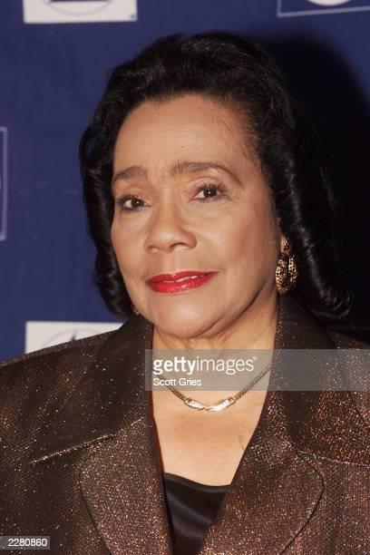 Coretta Scott King at the Grammy Foundation Salute to Musical Masters at the Paramount Theater in Los Angeles 2/18/01 Photo by Scott Gries/Getty...