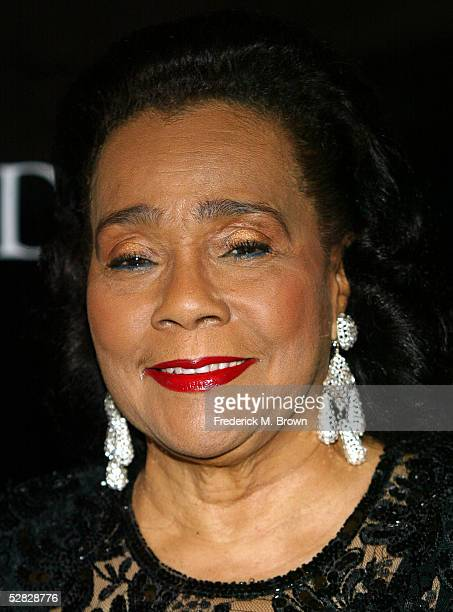 Coretta Scott King attends Oprah Winfrey's Legends Ball at the Bacara Resort and Spa on May 14 2005 in Santa Barbara California