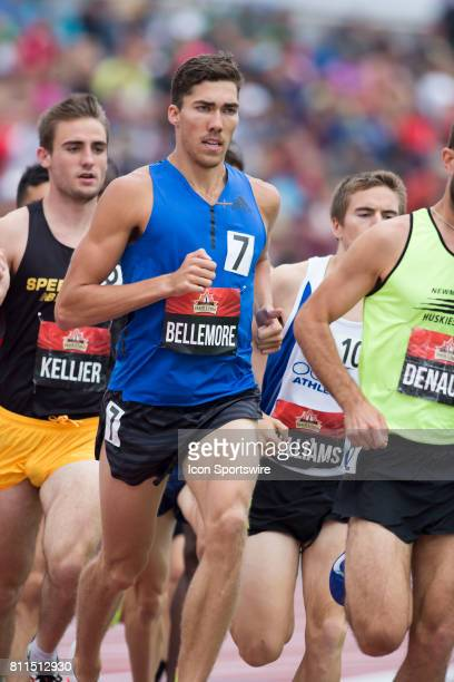 Corey Bellemore in the 1500m semifinals at the Canadian Track and Field Championships on 8 July 2017 at the Terry Fox Athletic Facility in Ottawa...