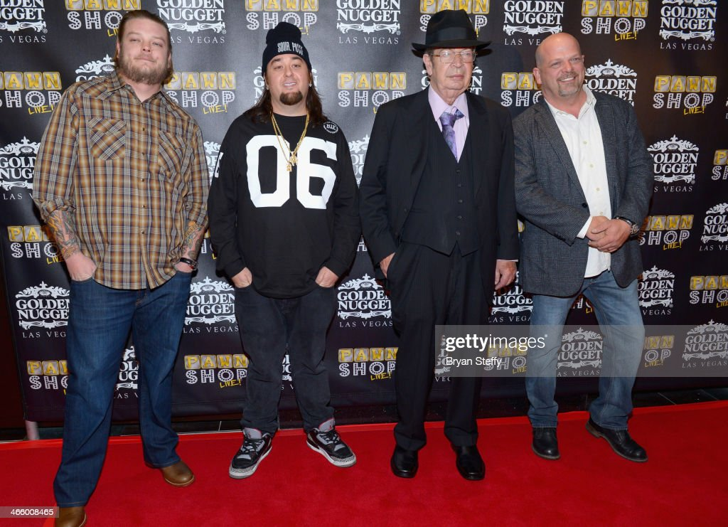the cast of historys quotpawn starsquot attends the opening of