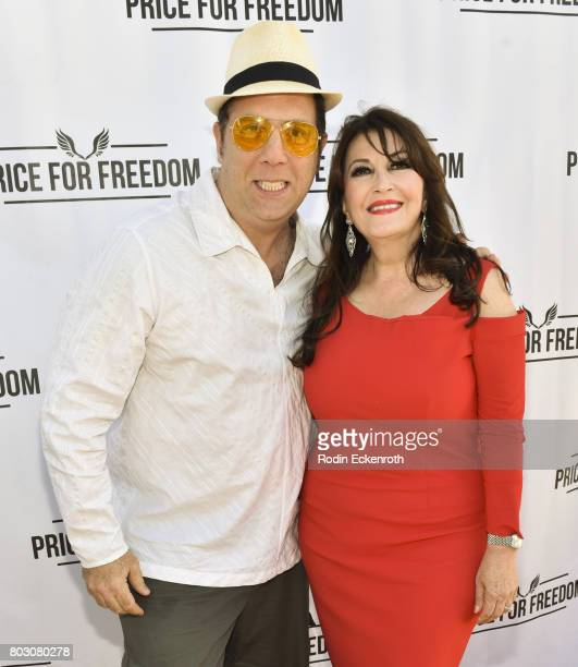 Corey Cutler and Mary Apick attend screening of 'Price For Freedom' at Laemmle Music Hall on June 28 2017 in Beverly Hills California