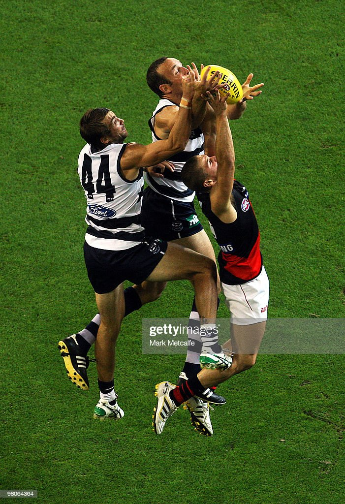 AFL Rd 1 - Geelong Cats v Essendon