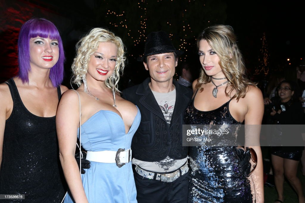 <a gi-track='captionPersonalityLinkClicked' href=/galleries/search?phrase=Corey+Feldman&family=editorial&specificpeople=175941 ng-click='$event.stopPropagation()'>Corey Feldman</a> as seen on July 15, 2013 in Los Angeles, California.