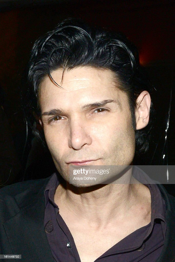 <a gi-track='captionPersonalityLinkClicked' href=/galleries/search?phrase=Corey+Feldman&family=editorial&specificpeople=175941 ng-click='$event.stopPropagation()'>Corey Feldman</a> at the Dim Mak Grammy Afterparty for Steve Aoki at Drai's Hollywood on February 10, 2013 in Hollywood, California.