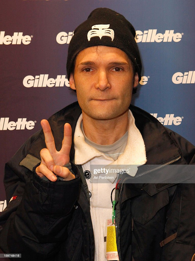 Corey Feldman attends Gillette Ask Couples at Sundance to 'Kiss & Tell' if They Prefer Stubble or Smooth Shaven - Day 2 on January 19, 2013 in Park City, Utah.