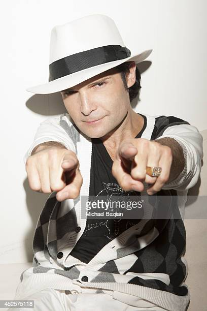 Corey Feldman attends his birthday party on July 19 2014 in Malibu California