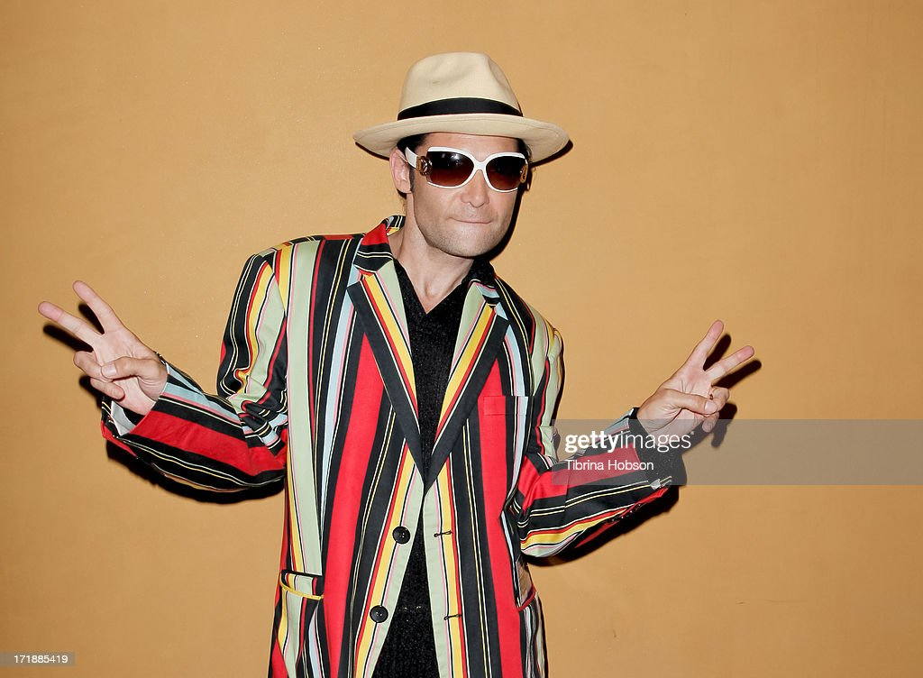 Corey Feldman attends the launch of former Pussycat Doll Kaya Jones's Hollywood Doll Boutique at the Iconic Sweet! on June 28, 2013 in Hollywood, California.