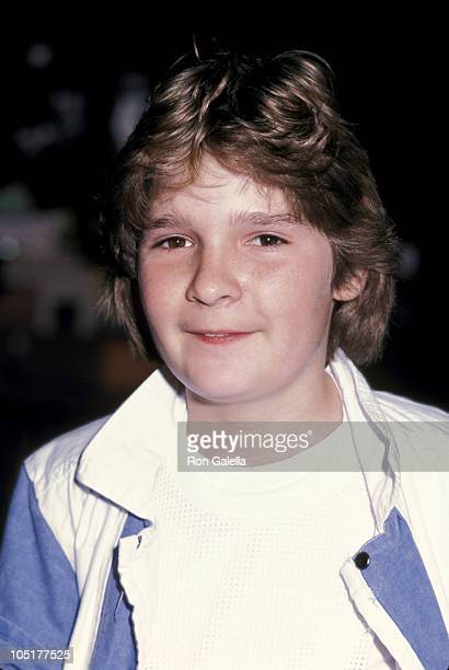 Corey Feldman during Screening of 'Streets of Fire' at Academy Theater in Beverly Hills CA United States