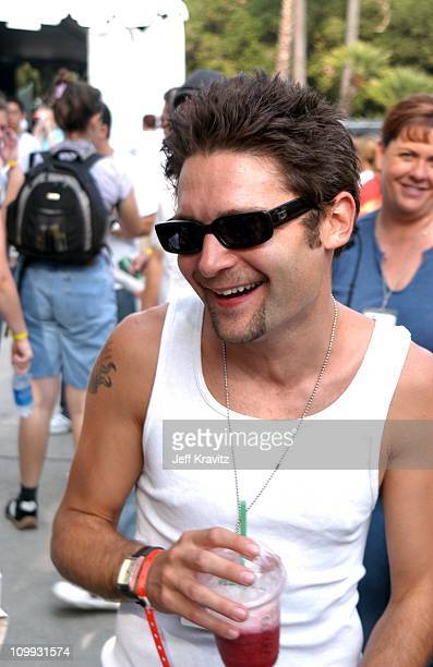 Corey Feldman during Wango Tango Backstage at Rose Bowl in Pasadena CA United States