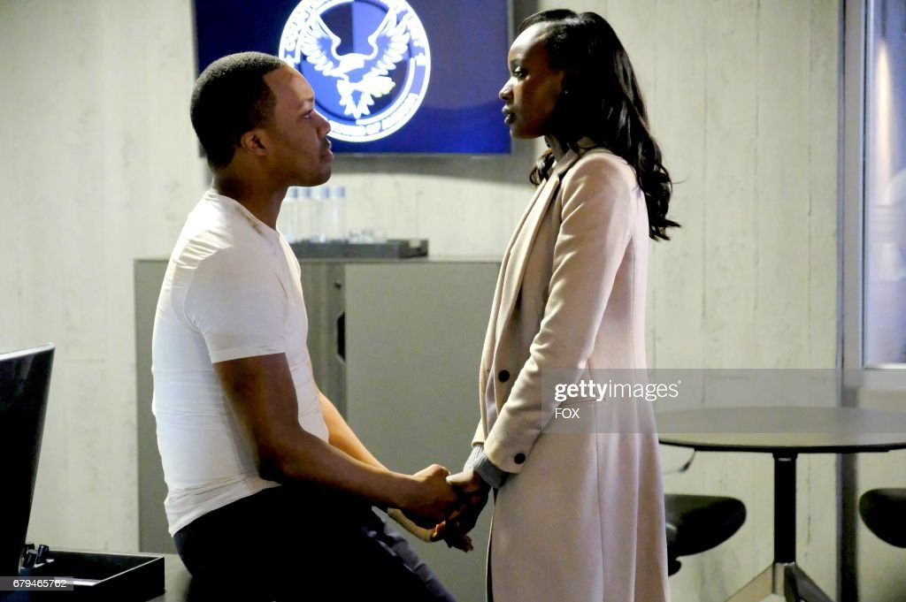 Corey Hawkins and Anna Diop in the '11:00 PM-12:00 AM' season finale episode of 24: LEGACY airing Monday, April 17 (8:00-9:01 PM ET/PT) on FOX.