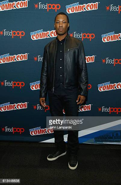 Corey Hawkins attends '24 Legacy' press conference during the 2016 New York Comic Con day 3 on October 8 2016 in New York City
