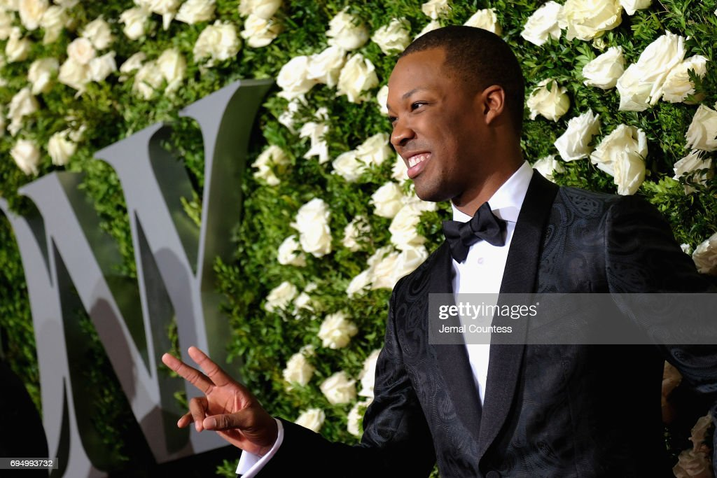 Corey Hawkins attends the 2017 Tony Awards at Radio City Music Hall on June 11, 2017 in New York City.