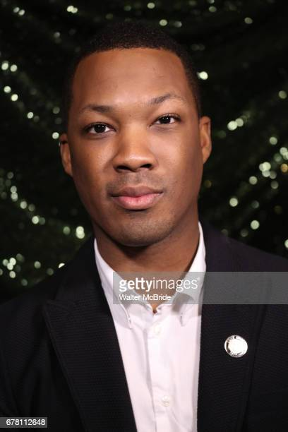 Corey Hawkins attends the 2017 Tony Awards Meet The Nominees Press Junket at the Sofitel Hotel on May 3 2017 in New York City
