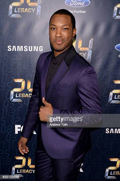 Corey Hawkins attends the '24 LEGACY' premiere at Spring Studios on January 30 2017 in New York City