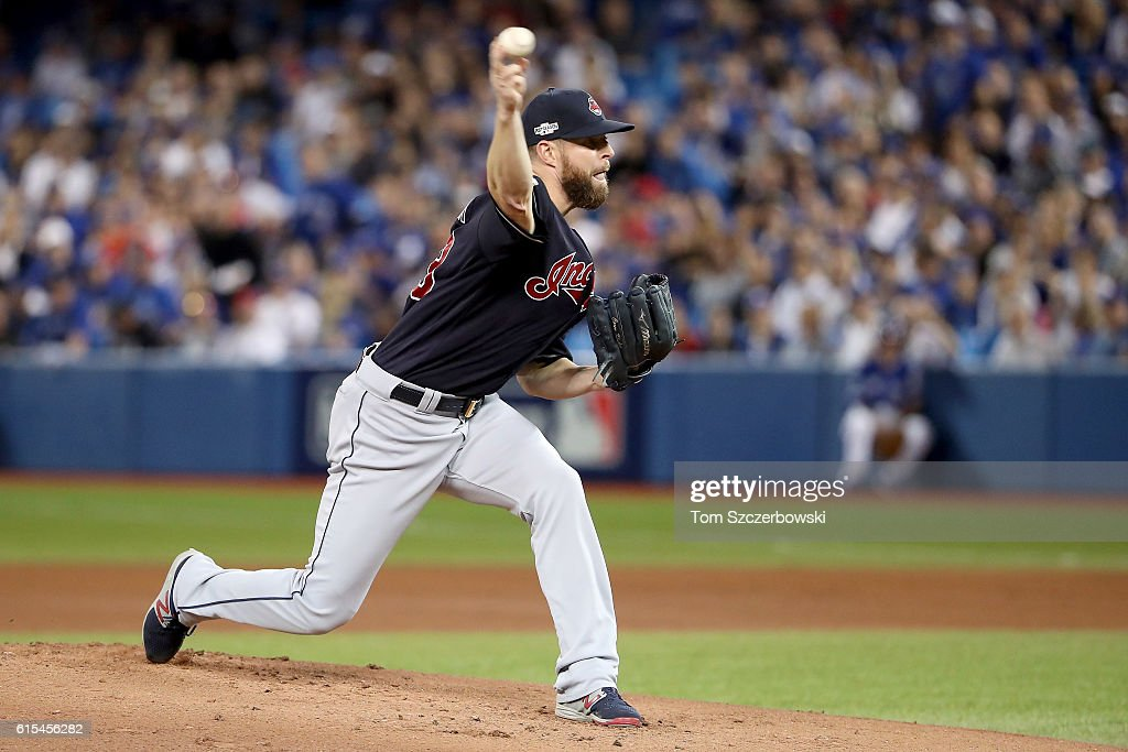 ALCS - Cleveland Indians v Toronto Blue Jays - Game Four