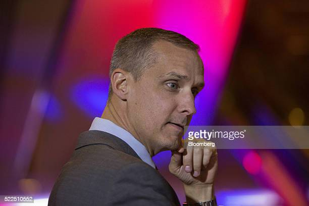 Corey Lewandowski campaign manager for Donald Trump president and chief executive of Trump Organization Inc and 2016 Republican presidential...