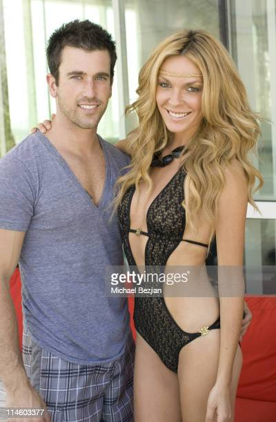 Corey Nelson and actress Jasmine Dustin attend Drai's W Hotel Memorial Day Weekend Pool Party on May 30 2010 in Hollywood California