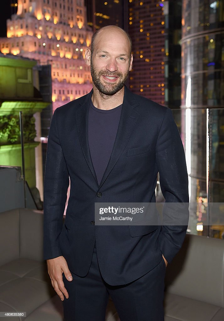 Corey Stoll attends the after party for Marvel's screening of 'Ant-Man' hosted by The Cinema Society and Audi at St. Cloud at the Knickerbocker Hotel on July 13, 2015 in New York City.