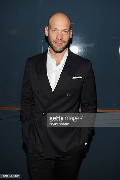 Corey Stoll attends the GQ Fashion Week Party At The Wythe Hotel on September 9 2014 in Brooklyn City