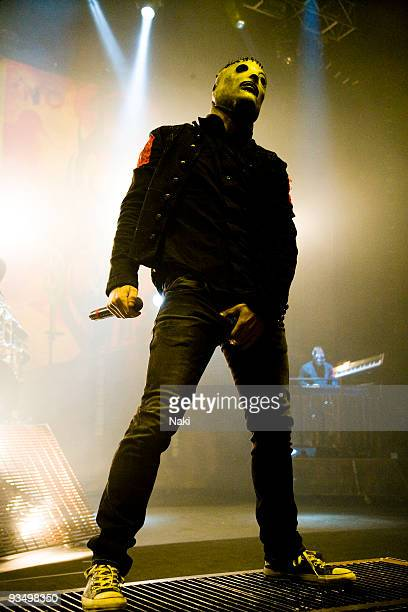 Corey Taylor of Slipknot performs on stage at Hammersmith Apollo on December 2nd 2008 in London