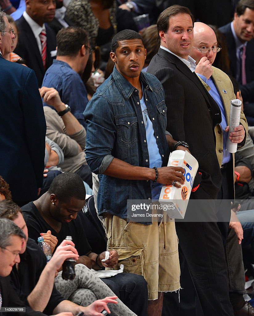 <a gi-track='captionPersonalityLinkClicked' href=/galleries/search?phrase=Corey+Webster&family=editorial&specificpeople=664907 ng-click='$event.stopPropagation()'>Corey Webster</a> attends the New York Knicks vs Boston Celtics basketball game at Madison Square Garden on April 17, 2012 in New York City.