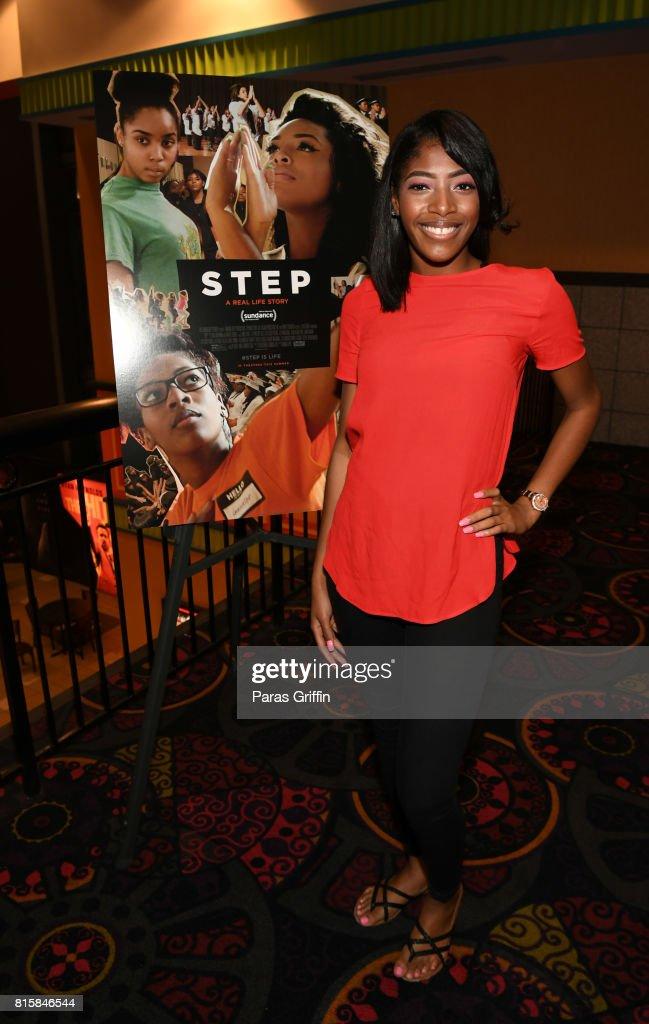 Cori Grainger at 'Step' documentary Atlanta Screening at Regal Cinemas Atlantic Station Stadium 16 on July 16, 2017 in Atlanta, Georgia.