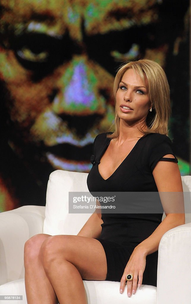 Cori Rist attends 'Chiambretti Night' Italian TV Show on January 19, 2010 in Milan, Italy.