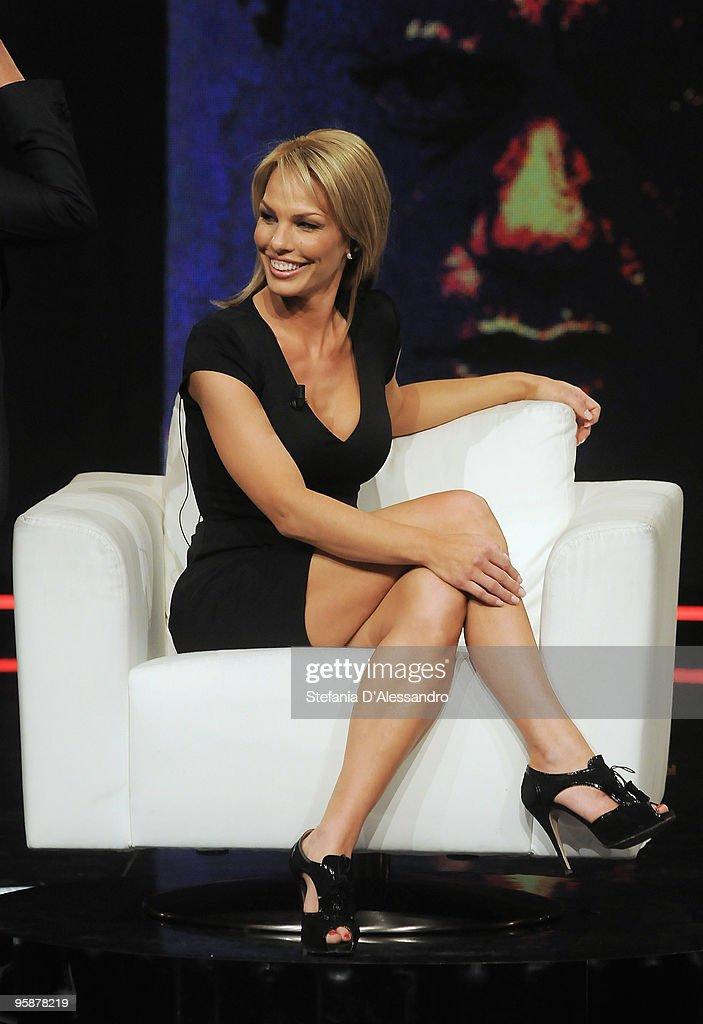 Cori Rist attends 'Chiambretti Night' Italian TV Show on January 19, 2010 in Milan, Italy.