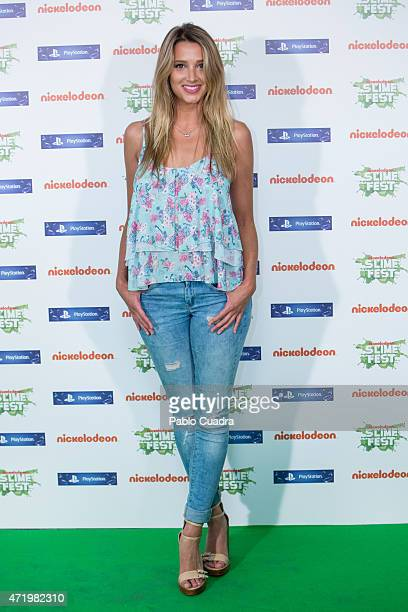 Corina Nadia Randazzo attends the Slime Festival at the Barclaycard Center on May 2 2015 in Madrid Spain