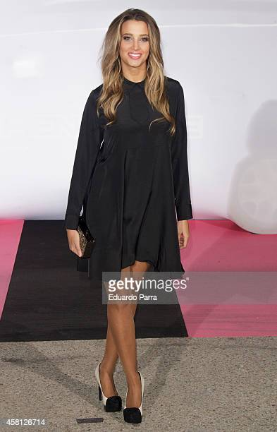 Corina Randazzo attends Energy and Divinity TV channels party photocall at Principe Pio train station on October 30 2014 in Madrid Spain