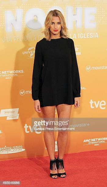 Corina Randazzo attends 'Mi Gran Noche' premiere at Kinepolis cinema on October 20 2015 in Madrid Spain
