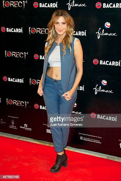 Corina Randazzo attends 'REC 4' premiere at Capitol Cinema on October 27 2014 in Madrid Spain