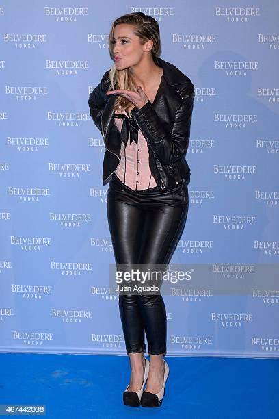 Corina Randazzo attends the Belvedere Vodka Night at Principe Pio train station on March 24 2015 in Madrid Spain
