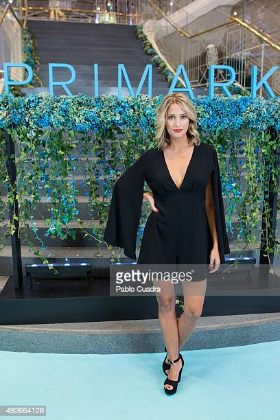 Corina Randazzo attends the 'Primark Gran Via' store opening on October 14 2015 in Madrid Spain