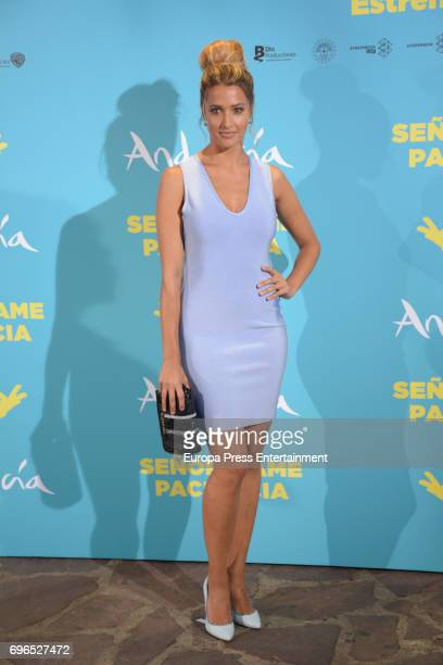 Corina Randazzo attends the 'Senor dame paciencia' premiere at Fortuny Palace on June 15 2017 in Madrid Spain