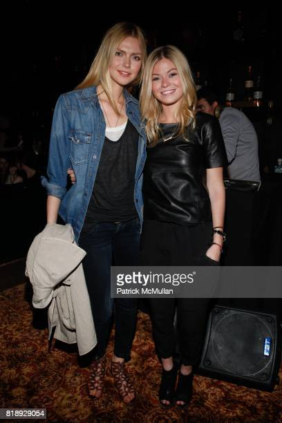 Corinna Drengk and Amanda Gorski attend GET LOUD IN THE LIBRARY Tanteo Tequila Celebrates One Year and La Biblioteca Celebrates One Month at La...