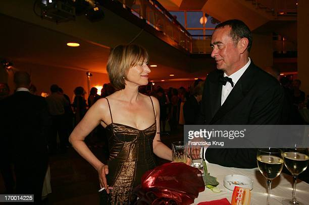 Corinna Harfouch and Bernd Eichinger After Party at 55th Ceremony Of The 'German Film Award' in the Berlin Philharmonic Hall on 080705