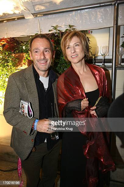 Corinna Harfouch and Dani Levy in at the Premiere Of 'The Perfume' in Berlin Cinestar