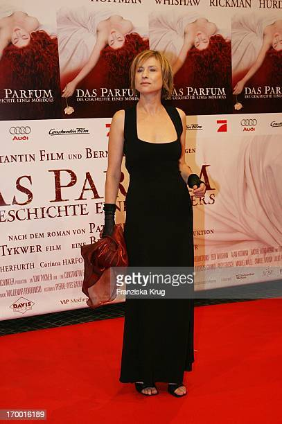 Corinna Harfouch at the premiere of 'Perfume' In Berlin Cinestar
