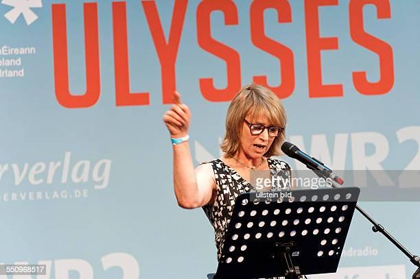 Corinna Harfouch Lesung ULYSSES Hörbuchspräsentation im ARD Hauptstadtstudio