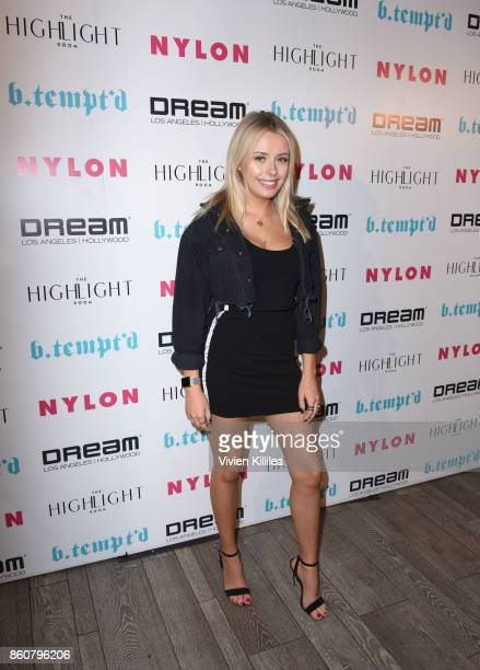 Corinna Kopf attends NYLON's It Girl Party At The Highlight Room At Dream Hollywood on October 12 2017 in Hollywood California
