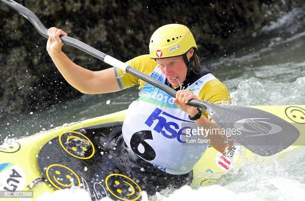 Corinna KUHNLE Championnat du monde de Kayak Slalom Ljubljana Slovenie