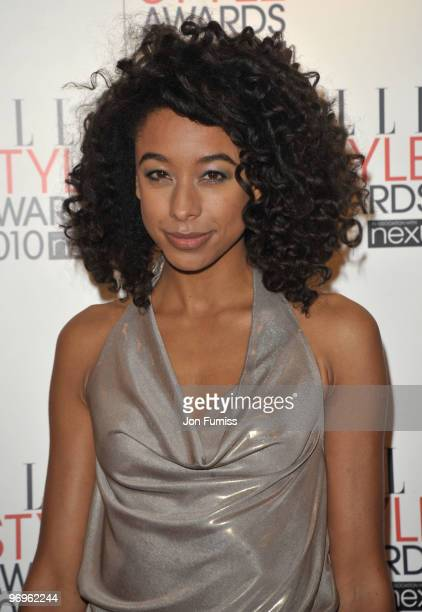 Corinne Bailey Rae attends the ELLE Style Awards at Grand Connaught Rooms on February 22 2010 in London England